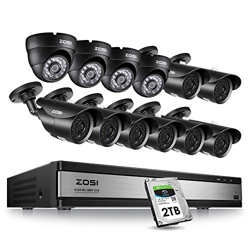 Zosi 16Ch 1080P Security