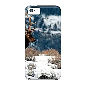 Hot Style mobile phone cases Protective Stylish Cases Eco Package iphone 4s - winter elk