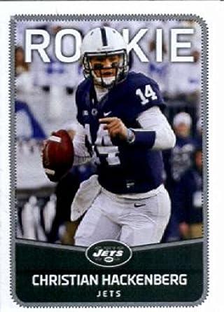 2016 Panini Stickers  62 Christian Hackenberg New York Jets Football Card 144ac27a7