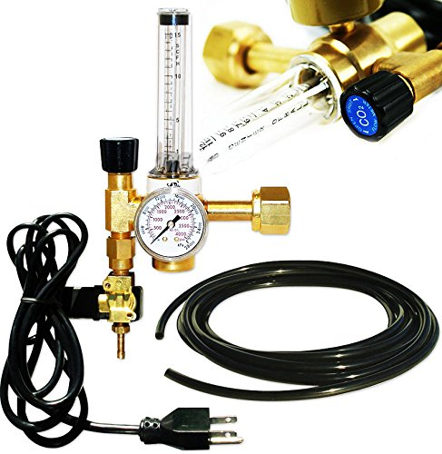 Co2 Flow Meter Regulator Injection Release System Emitter Solenoid Controller - Optimum Growth Co2 System