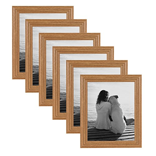 DesignOvation - Penelope Wood 8x10 Wall Hanging or Table Sta