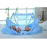SUPOW Baby Mosquito Net Bed, Portable Infant Tent