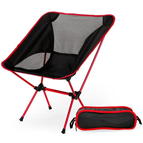 X-CAT Ultralight Folding Chair with Carry Bag Azure 14.37 x 4.92 x 4.13 Inches 14.37 x 4.92 x 4.13 Inches Portable Beach Sunbath Picnic Barbecue Camping Chairs Heavy Duty 330 lb Capacity