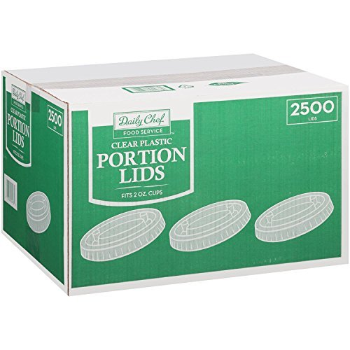 Daily Chef Portion Lids - 2 ounce/2500 ct.