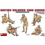 MiniArt 35071 British Soldiers Tank Riders - Figuras de soldados británicos para tanque en miniatura (escala 1:35)