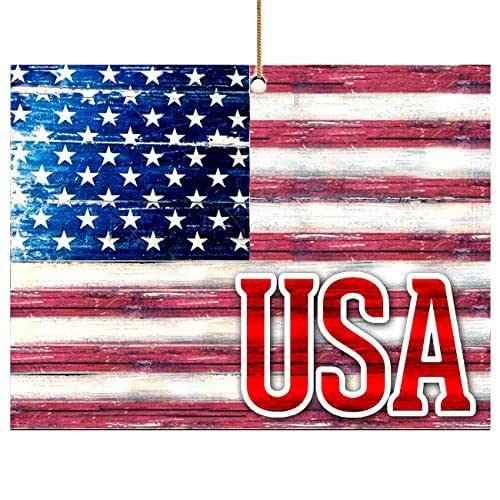 Amazon.com: Christmas Ornaments, Patriotic Decor American