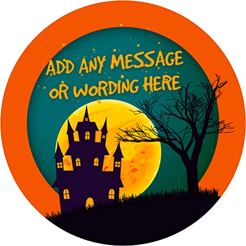 Halloween Sticker Labels (24 Stickers, 1.8'' Inch Each)