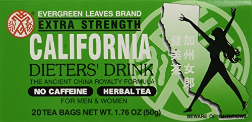 6pk - California Tea - Dieters Drink - 20 bags