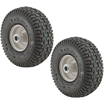 amazoncom carlisle stud tire    rim front wheel assembly snapper lawn
