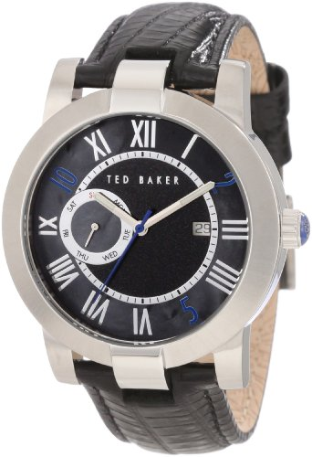 Ted Baker Men's TE1074 About Time Custom 9 O'clock Day and Date Watch