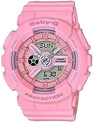 Casio Baby-G G-Shock Series Resin Womens Watch (Pink) BA110-4A1