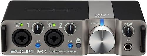 Zoom UAC-2 USB 3.0 Audio Interface, 2 In/2 Out Audio Interface, MIDI I/O