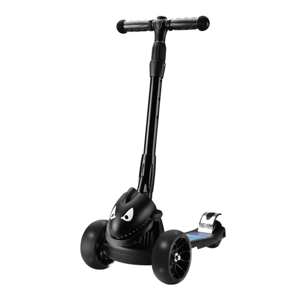 品質検査済 学生スクーター折り畳み式ライドブロック自転車リフトスイングカーフラッシュホイール5-15歳 B07FYLVKDM B07FYLVKDM Black Black Black Black, クラフトモール:5a43c3d4 --- a0267596.xsph.ru