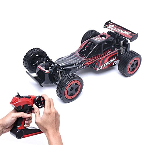 Gotd 2.4G High Speed Monster Truck Remote Control Car 78599, Red by Goodtrade8