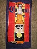 Corona Extra Mexican Beer 30 x 60 Beach Towel (Cotton Twill)