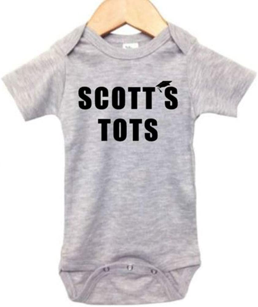The Office Onesie/Scott's Tots/Funny Baby Outfit/Unisex Newborn Bodysuit