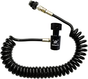 Maddog Heavy Duty Paintball Remote Coil High Pressure Air Hose CO2 Compressed air