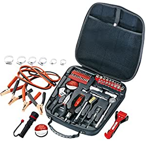 Apollo Tools DT0101 Travel & Automotive Tool Kit, 64-Piece