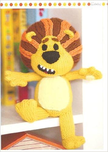 Cbeebies Raa Raa The Noisy Lion Toy Knitting Pattern Magazine Pull