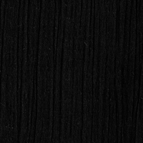 Ben Textiles Island Breeze Gauze Black Fabric by The ()