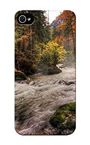 CYSMIhq3808eRkLD Special Design Back Forest River Phone Case Cover For Iphone 5/5s