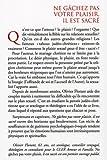 Image de Ne gâchez pas votre plaisir, il est sacré (French Edition)