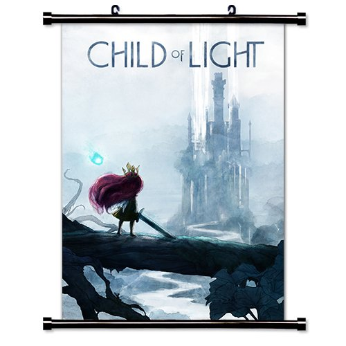 Child of Light Game Fabric Wall Scroll Poster  Inches