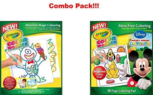 Crayola Wonder Disney Preschool Coloring