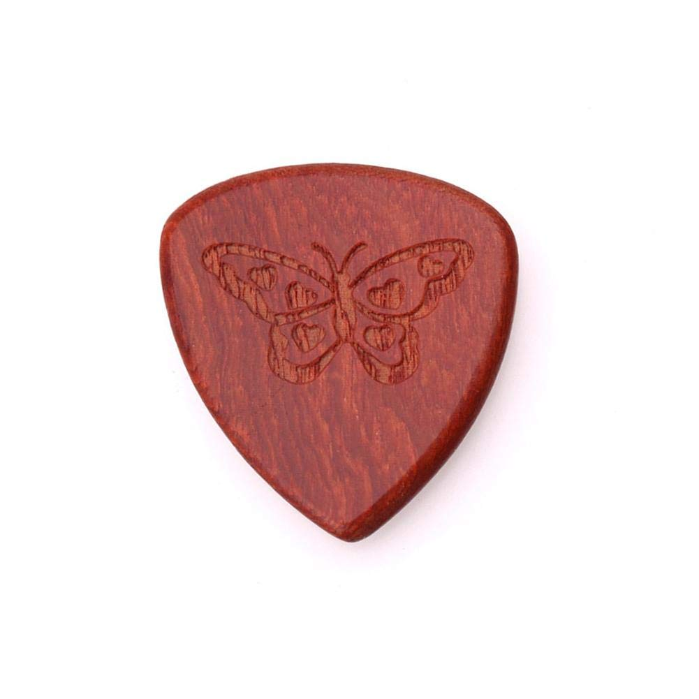Solid Wood Guitars Picks for Electric, Acoustic,or Bass Guitar LeKing