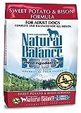 Natural Balance L.I.D. Limited Ingredient Diets Dry Dog Food, Grain Free, Sweet Potato & Bison Formula, 26-Pound