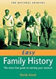img - for Easy Family History: The Stress-Free Guide to Starting Your Research by David Annal (2005-10-31) book / textbook / text book