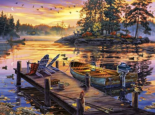 - Buffalo Games - Darrell Bush - Morning Paradise - 1000 Piece Jigsaw Puzzle