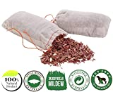 Wahdawn 10 Cedar Chips for Closet | Organic