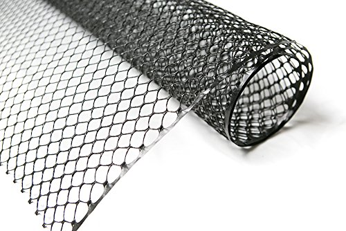 Poultry Fence-Physical Animal Barrier in -Rustless Plastic Hexagonal Mesh-For Chicken or other Pets, 3ft x 25ft by NaiteNet (Image #1)