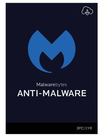 Malwarebytes Anti-Malware Premium 1 Year for 3 PCs [Download]