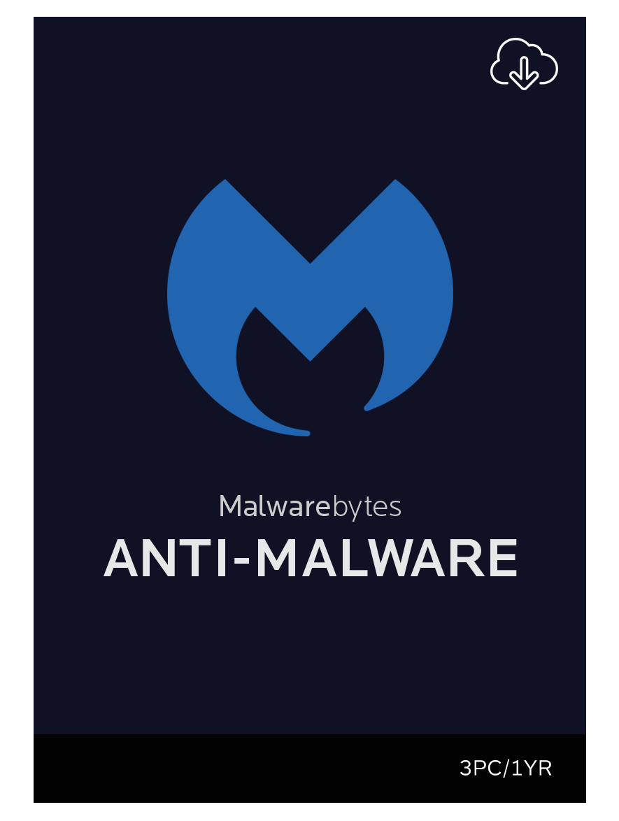 Malwarebytes Anti-Malware Premium 1-Jahres-Abonnement für 3 PCs [Download]