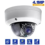 Eziview IP Camera 4.1MP 4mm Lens 2688X1520 Dome Network Camera Outdoor Indoor Camera CCTV Camera WDR Motion Detection