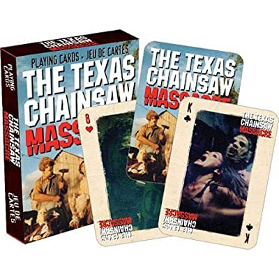 Aquarius Texas Chainsaw Massacre Playing Cards: Toys & Games