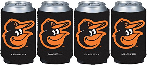 MLB Baltimore Orioles Can Koozie 4 pack -