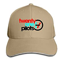 Twenty One Pilots Regional At Best Sandwich Peaked Hat Brim Caps