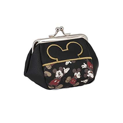 Karactermania Mickey Mouse True-Monedero Bombón Monedero, 10 cm, Negro