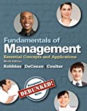 img - for Fundamentals of Management: Essential Concepts and Applications (9th Edition) book / textbook / text book
