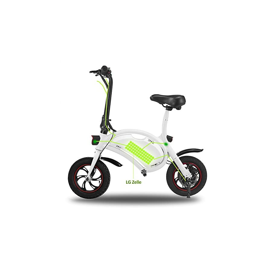 ANCHEER Electric Bike with 36V 8AH Removable Lithium Ion Battery Lightweight E bike with 250W Motor and Battery Charger
