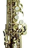 Sky Band Approved Bb Gold Plated Soprano Saxophone