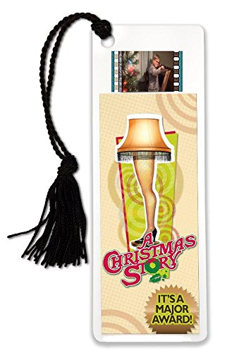 FilmCells Christmas Story (Leg Lamp Major Award) Bookmark with Tassel and Real 35mm Film Clip ()