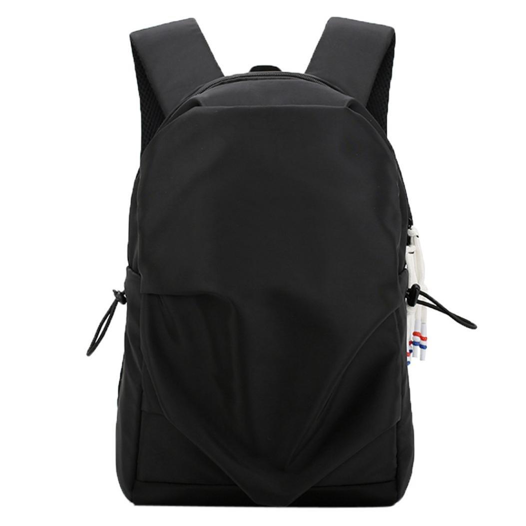 Jchen(TM) Clearance Sale! Lightweight Foldable Sport Outdoor Backpack Waterproof Bag Portable Men Women Backpack Travel (Black)