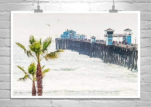 San Diego Art Print, Oceanside Pier Photograph