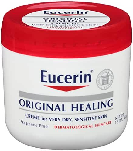 Eucerin Original Healing Rich Creme 16 oz (Pack of 2)