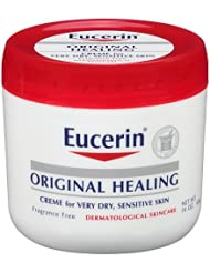 美亚:Eucerin Original Healing Rich Creme 16 oz (Pack of 2),现价:$14.86