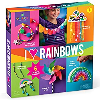 Craft-tastic I Love Rainbows – Craft Kit for Kids – Everything Included for 6 Fun DIY Colorful Art & Crafts Projects